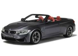 GT Spirit - BMW  - GT081 : BMW M4 F83 cabriolet (resin series), grey
