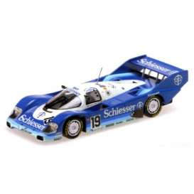 Porsche  - 1985 blue/white/light blue - 1:18 - Minichamps - 155856619 - mc155856619 | Tom's Modelauto's
