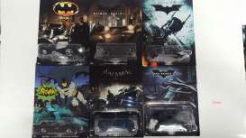 Hotwheels - Batman  - hwmvDFK69 : Rolling assortment with various New Batman vehicles.