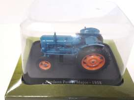 Fordson  - Power Major 1958 blue - 1:43 - Magazine Models - TRfordson - magTRfordson | Tom's Modelauto's