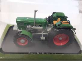 Deutz  - D 130 1972 green - 1:43 - Magazine Models - magTRd130 | Tom's Modelauto's