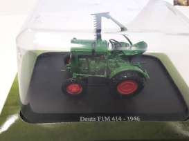Deutz  - 1946 green - 1:43 - Magazine Models - magTRf1m414 | Tom's Modelauto's