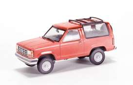 Ford  - Bronco red - 1:43 - Magazine Models - JBbronco - magJBbronco | Toms Modelautos