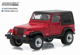 GreenLight - Jeep  - gl96160D : 1992 Jeep Wrangler hard top *Motor World Series 16*