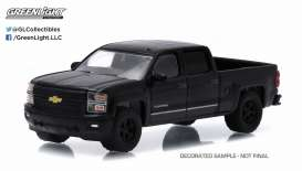 GreenLight - Chevrolet  - gl27790F : 2015 Chevrolet Silverado 1500 *Black Bandit Series 13*, black