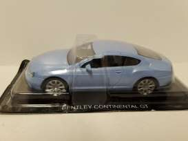 Bentley  - Continental GT light blue metallic - 1:43 - Magazine Models - SCbentley - magSCbentley | Toms Modelautos