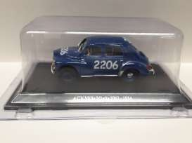 Renault  - 1954 dark blue - 1:43 - Magazine Models - mm4CV2206 - magmm4CV2206 | Tom's Modelauto's