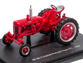 Mc Cormick  - 1955 red - 1:43 - Magazine Models - TRsuperfc - magTRsuperfc | Toms Modelautos