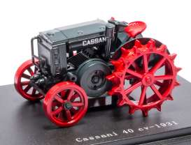 Cassani  - 1931 red/grey - 1:43 - Magazine Models - magTRCasani | Tom's Modelauto's