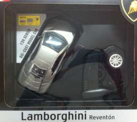 Lamborghini  - 2013 grey - 1:24 - MZ Model - MZ25024Agy | Tom's Modelauto's
