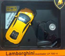 Lamborghini  - 2013 yellow - 1:24 - MZ Model - MZ25021Ay | Tom's Modelauto's