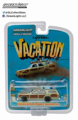 National Lampoon Truckster  - 1979 green/brown - 1:64 - GreenLight - gl44730A | Tom's Modelauto's