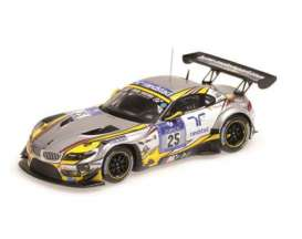 Minichamps - BMW  - mc437152525 : 2015 BMW Z4 GT3 BMW Sports Trophy Team Marc VDS 24hrs Nurburgring Martin/Luhr /Palttala/Westbrook *resin series*