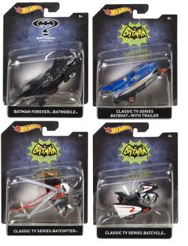 Hotwheels - Assortment/ Mix Batman - hwmvDKL20-999B~8 : 1/50 Batman assortment. Mix box of 8