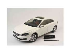 Motor City Classics - Volvo  - mocity88151 : 2015 Volvo S60 (New Design), chrystel white pearl