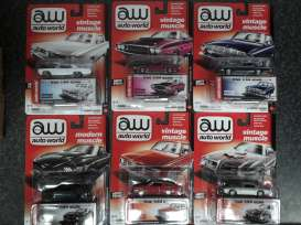 Assortment/ Mix  - various - 1:64 - Auto World - AW64032A | Tom's Modelauto's