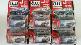 Assortment/ Mix  - various - 1:64 - Auto World - AW64032B | Tom's Modelauto's