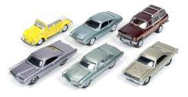 Assortment/ Mix  - various - 1:64 - Johnny Lightning - JLCG001B | Tom's Modelauto's