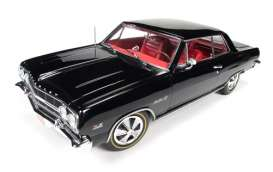 Auto World - Chevrolet  - AMM1061 : 1965 Chevrolet Chevelle (50th Anniversary 396 Engine), black