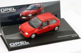 Chevrolet  - 1993 red - 1:43 - Magazine Models - Ope114 - MagOpe114 | Tom's Modelauto's