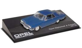 Magazine Models - Opel  - MagOdipAb : 1965-1967 Opel Diplomat A coupe, blue