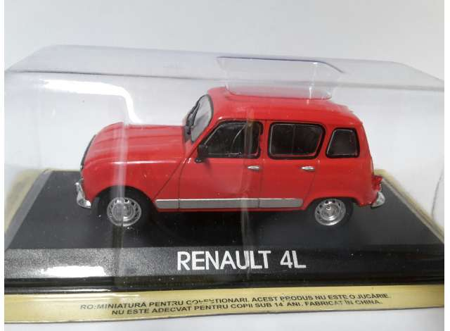 renault | red | 1:43 | magazine models | maglcre4l | tom's modelauto's