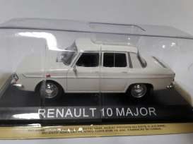 Renault  - white - 1:43 - Magazine Models - lcRenault10 - maglcRenault10 | Tom's Modelauto's