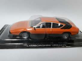 Magazine Models - Lamborghini  - magSCurraco : Lamborghini Urraco, orange
