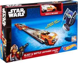 Mattel Disney - Mattel Disney Kids - matCMM32 : Disney Star Wars Blast & Battle Lightsaber Launcher