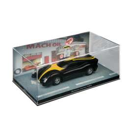 Batman  - black/yellow - 1:43 - Magazine Models - magBAT-23 | Tom's Modelauto's