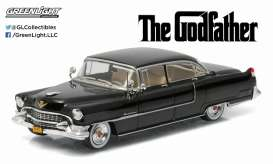 Cadillac  - Fleetwood series 60 Godfather 1955 black - 1:43 - GreenLight - 86492 - gl86492 | Tom's Modelauto's