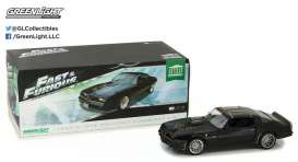 Pontiac  - Tego's Trans Am *F&F* 1978 black/gold - 1:18 - GreenLight - gl19026 | Tom's Modelauto's