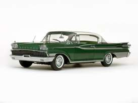 Mercury  - 1959 Marble white/sherwood green - 1:18 - SunStar - 5164 - sun5164 | Toms Modelautos