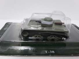Russian Tanks  - green - Magazine Models - TA-98 - magTA-98 | Tom's Modelauto's