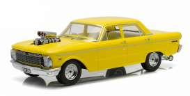 Ford  - 1964 yellow - 1:18 - GreenLight - 18004y - gl18004y | Tom's Modelauto's