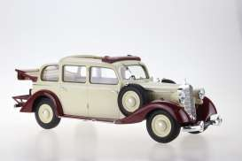 Mercedes Benz  - 1936 beige - 1:18 - Triple9 Resin series - T9R1800104 - T9R1800104 | Toms Modelautos