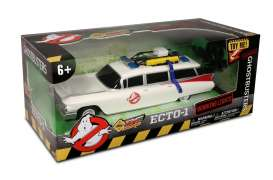 Cadillac  - *Ghostbusters* 1959 white/red - 1:16 - NKOK - NKOK6612 | Tom's Modelauto's