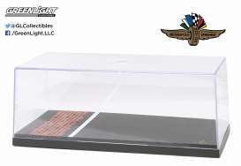 GreenLight - Accessoires  - gl55021 : 1/18 Indianapolis Motor Speedway Yard of Bricks Special Edition Big Show case. THE ACTUAL SIZE: 13.4w x6.3d x5.4h inch(34cm x 16cm x 11cm).