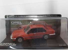 Opel  - 1978 orange - 1:43 - Magazine Models - OcomC - MagOcomC | Toms Modelautos