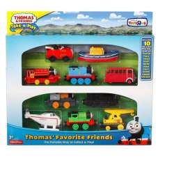 Mattel Thomas and Friends - Thomas and Friends Kids - MatBMM36 : Thomas and Friends Take-n-Play Multi pack of 10.