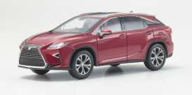 Lexus  - 2016 red mica crystal - 1:43 - Kyosho - 3663rm - kyo3663rm | Tom's Modelauto's
