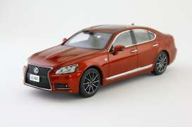 Lexus  - red - 1:43 - Kyosho - 3659rm - kyo3659rm | Tom's Modelauto's