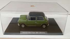 Innocenti Mini - 1972 green/black - 1:24 - Magazine Models - mag24innocenti | Tom's Modelauto's
