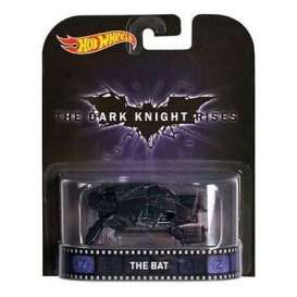 Hotwheels - Batman  - hwmvCFR19 : the Bat *the Dark Knight Rises* Retro Entertainment series