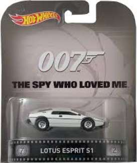 Hotwheels - Lotus  - hwmvCFR26 : Lotus Esprit S1 *the Spy Who Loved Me* Retro Entertainment series