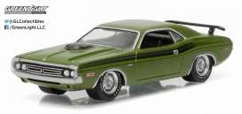 Dodge  - 1971 green/black - 1:64 - GreenLight - 13160C - gl13160C | Toms Modelautos