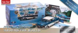 SunStar - Ford  - sun5283 : 1958 Ford Fairlane 500 hardtop *The Car That Went Around The World*