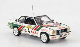 Opel  - Ascona 400 #4 1981 white/red/green - 1:18 - SunStar - 5370 - sun5370 | Toms Modelautos