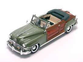 SunStar - Chrysler  - sun6142 : 1948 Chrysler Town & Country, heather green