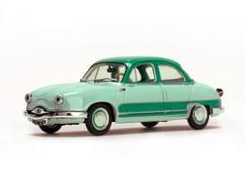 Panhard  - 1957 light green/dark green 2-tone - 1:43 - Vitesse SunStar - 23594 - vss23594 | Toms Modelautos